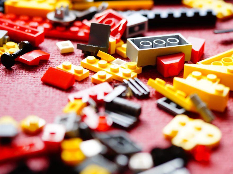 Designschutz für Lego-Klemmbausteine